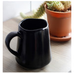 roro Ceramic Stoneware Hand-Molded Matte Black Coffee and Tea Mug and Cup, 12 oz rorodecor.myshopify.com
