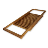 "roro Long Wood Bathtub Tray and Caddy, 34.5"" x 12 rorodecor.myshopify.com"