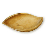 roro Mango Shaped Wood Deep Serving Bowl Dish Made, 14 Inch rorodecor.myshopify.com