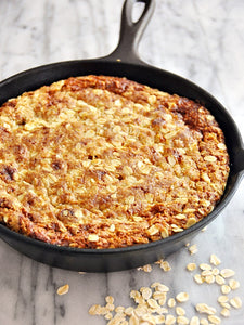 SKILLET OLIVE OIL ANZAC BISCUIT