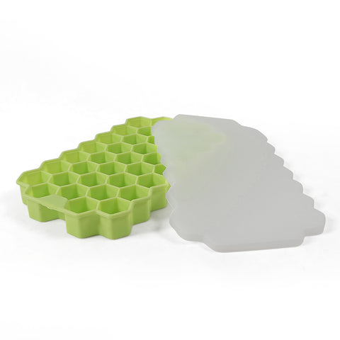 Silicone ice tray cube mould