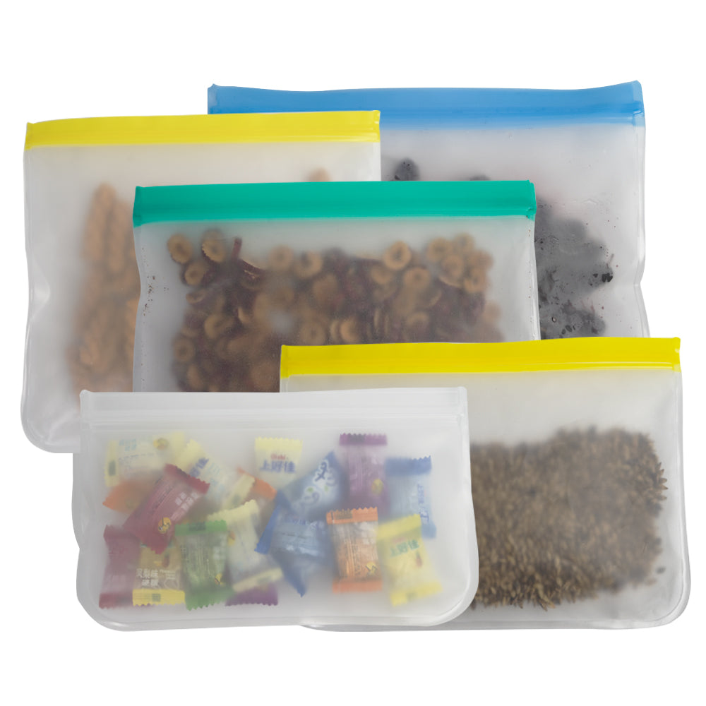 Eco-friendly reusable food vegetable storage bags