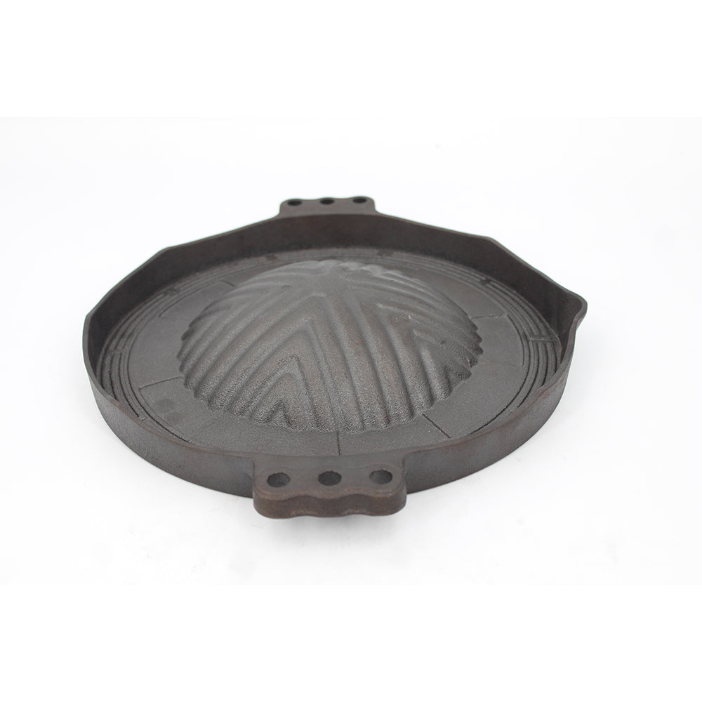 Cast iron pre-seasoned Khan grill pan