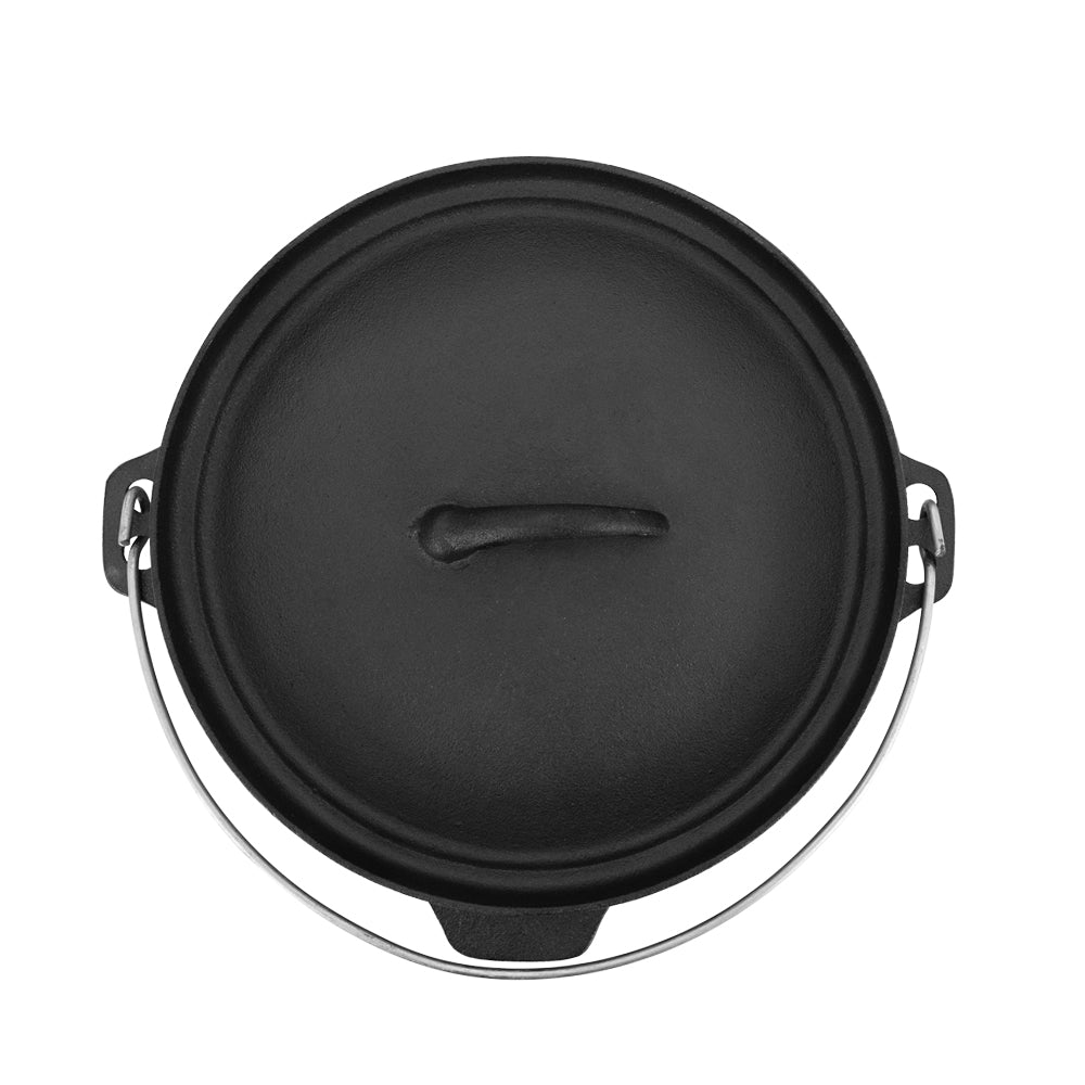 Pre-seasoned Cast Iron Cooking Pot Dutch Oven