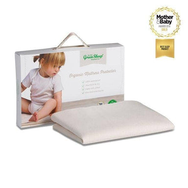 The Little Green Sheep Organic Bed Mattress Protector 90x200  - Hola BB