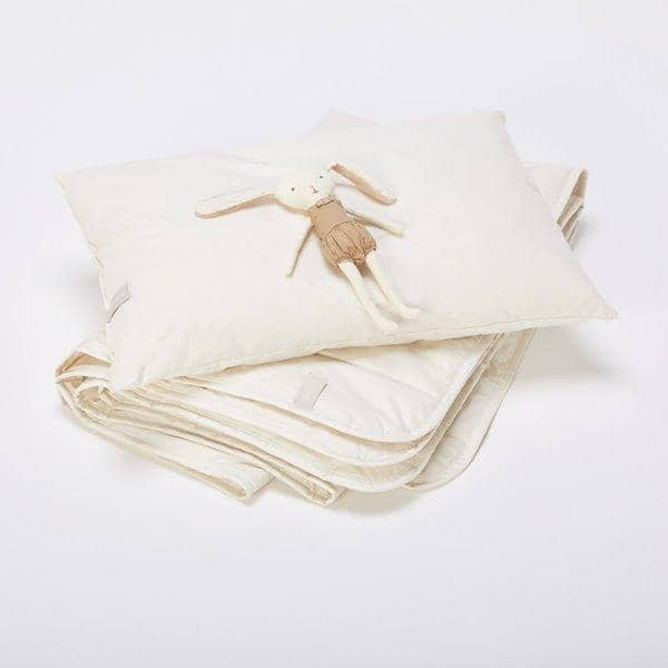 The Little Green Sheep Organic Wool Pillow  - Hola BB