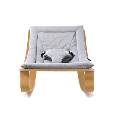Charlie Crane LEVO Baby Rocker - Sweet Grey Cushion  - Hola BB