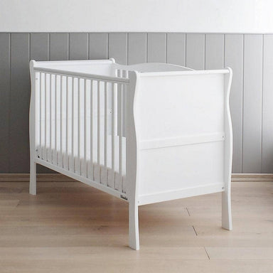 Woodies Nobel Vintage 2 in 1 Cot Bed - 70x140 - White  - Hola BB