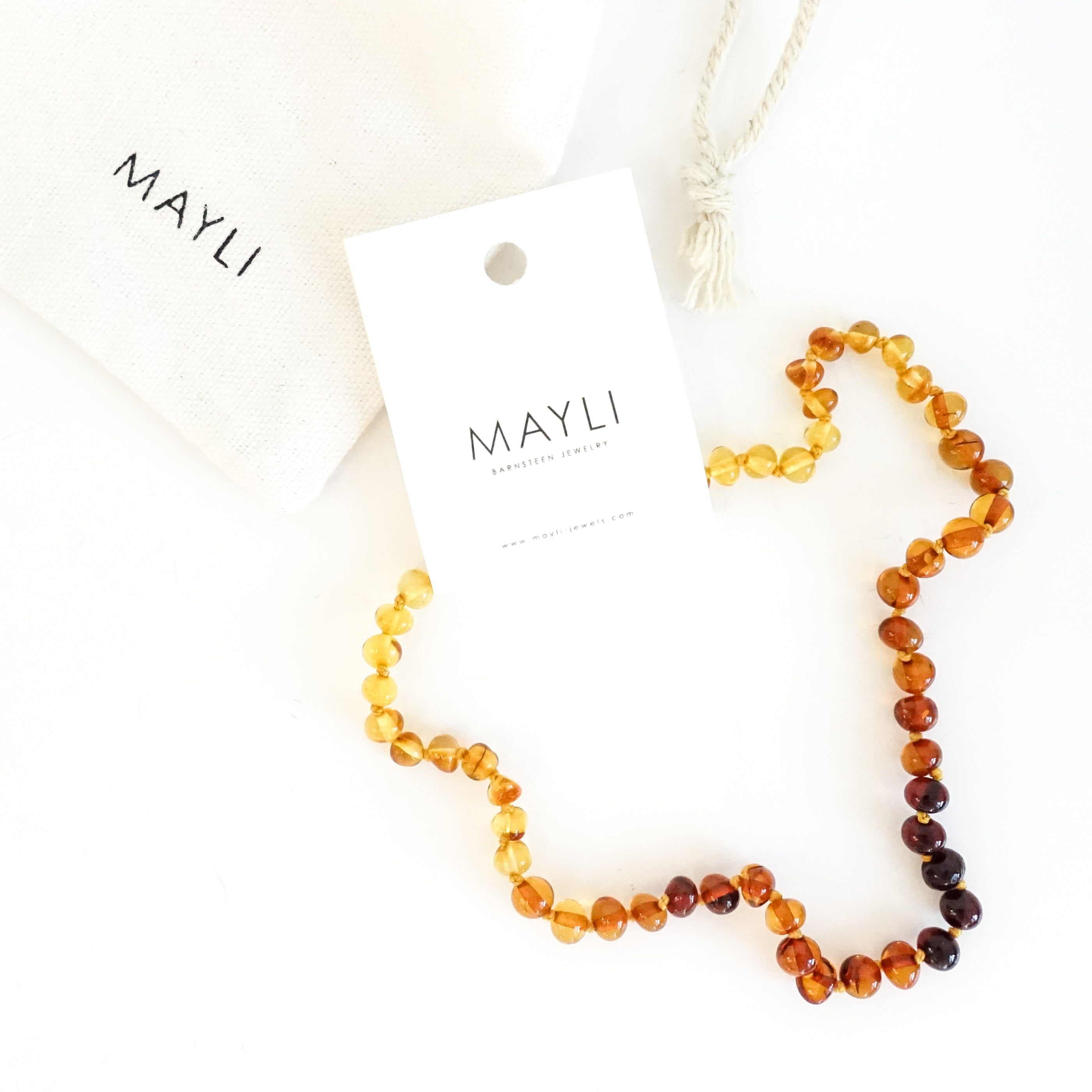 MAYLI Amber Toddler Necklace - Felix  - Hola BB