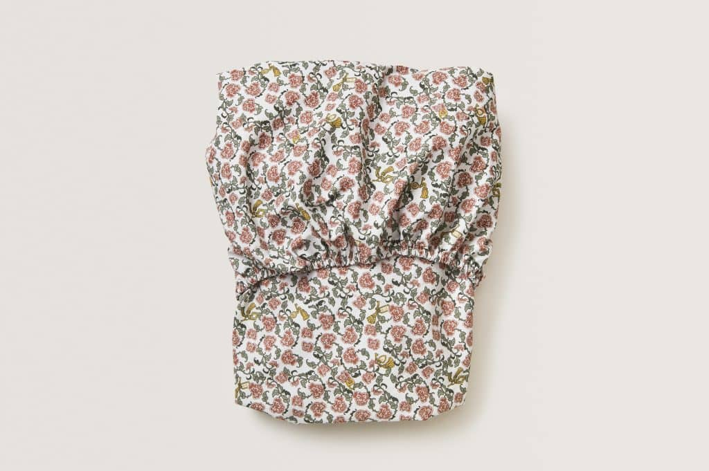 Garbo & Friends Garbo & Friends Floral Vine Fitted Sheet  - Hola BB