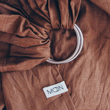 Moon Ring Sling - Cinnamon - Hola BB