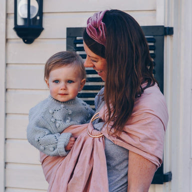 Moon Ring Sling - Pink Moon - Hola BB