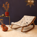 Charlie Crane LEVO Baby Rocker walnut - Rose in April  - Hola BB