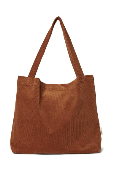 Studio Noos Studio Noos Brown-ie rib mom-bag  - Hola BB