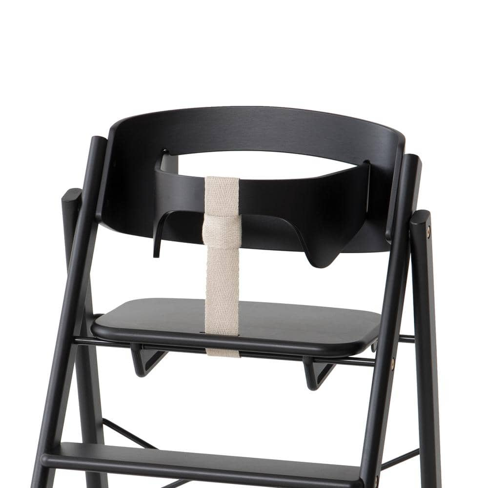 KAOS KAOS Klapp high chair + safety rail - Black  - Hola BB