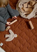 Nanami Hills Play Mat - Cinnamon brown  - Hola BB