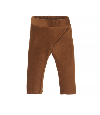 Nanami Nanami Velvet trousers - Brown  - Hola BB