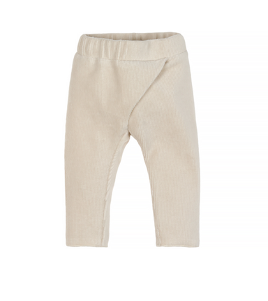 Nanami Nanami Velvet trousers - Natural  - Hola BB