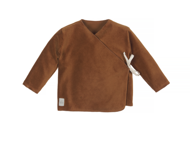 Nanami Nanami Velvet top - Brown  - Hola BB