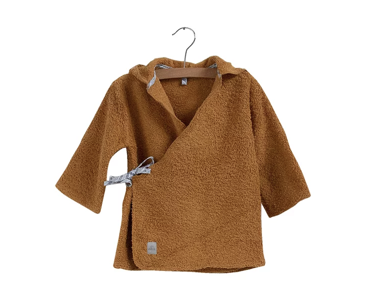 Nanami Nanami Baby Bathrobe Honey  - Hola BB