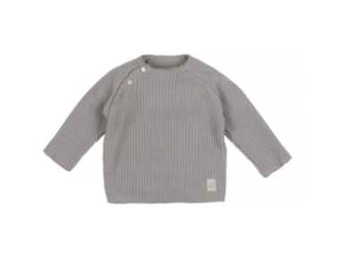 Nanami Nanami Knitted cardigan jumper - Grey  - Hola BB
