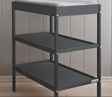 Woodies Classic Anthracite Changing Table  - Hola BB