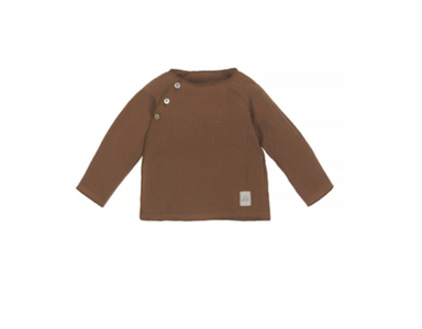 Nanami Nanami Baby Mousseline Sweater - Brown  - Hola BB
