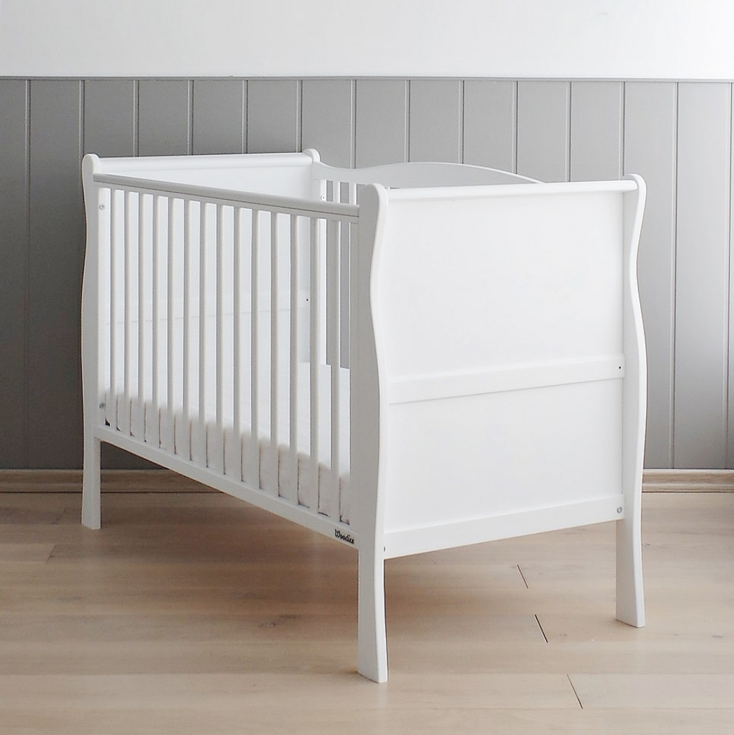 Woodies Nobel Vintage Cot - White  - Hola BB