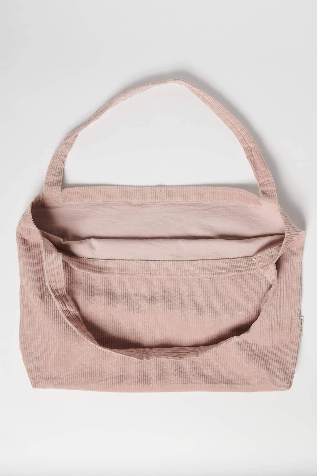 Studio Noos Studio Noos Dusty pink rib mom-bag  - Hola BB