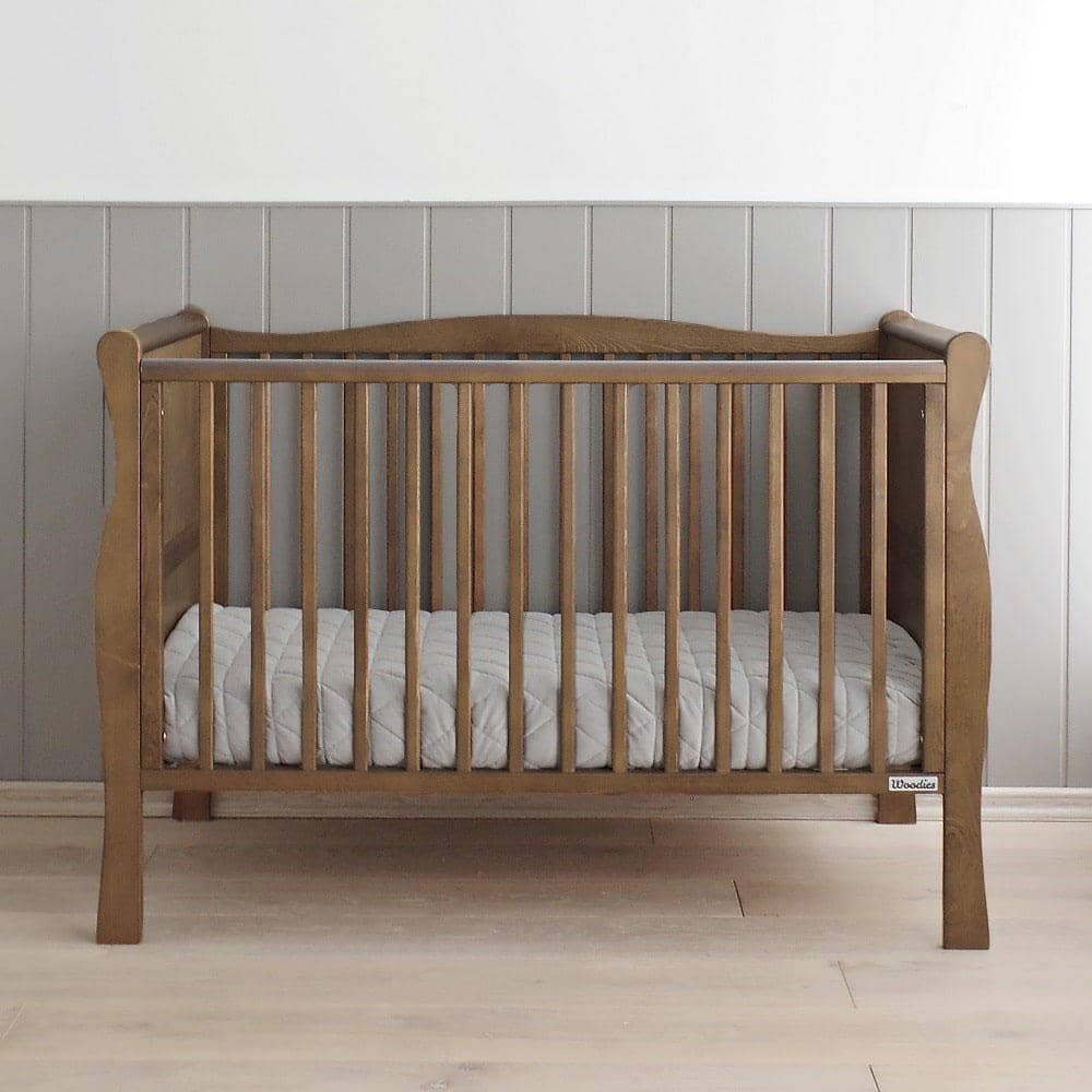 Woodies Nobel Vintage 2 in 1 Cot Bed - 70x140  - Hola BB