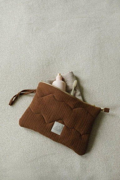 Nanami Mama Clutch - Brown  - Hola BB