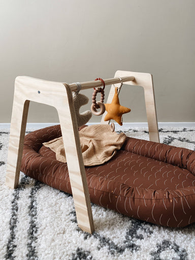 Little World of Wood Wooden baby gym  - Hola BB