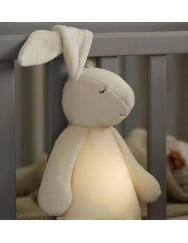 Moonie Moonie Humming Rabbit Sleep Aid - Silver  - Hola BB