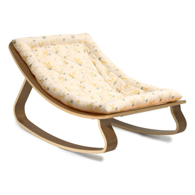 Charlie Crane Levo Baby Rocker Walnut X Mimosa by Garbo & Friends  - Hola BB