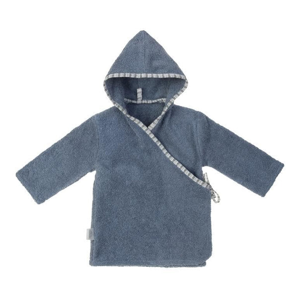 Nanami Bathrobe in Denim Blue - Hola BB