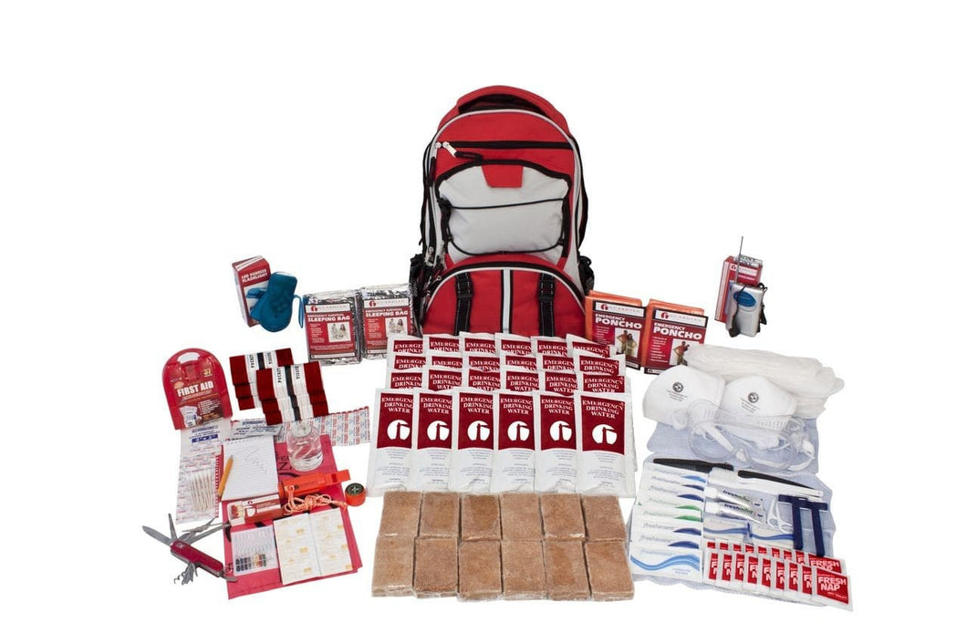 2 Person Deluxe Survival Kit - Tornado Kit - Tornado Emergency Kit - Tornado Safety - Tornado Survival Kit - Disaster Kit - Preparing for a Tornado - Tornado Preparedness