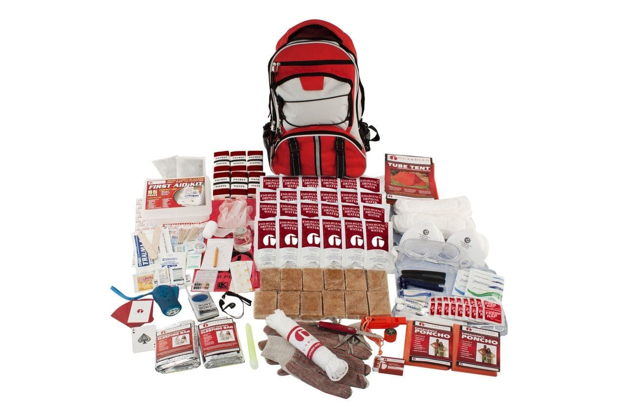 2 Person Elite Survival Kit - Tornado Kit - Tornado Emergency Kit - Tornado Safety - Tornado Survival Kit - Disaster Kit - Preparing for a Tornado - Tornado Preparedness