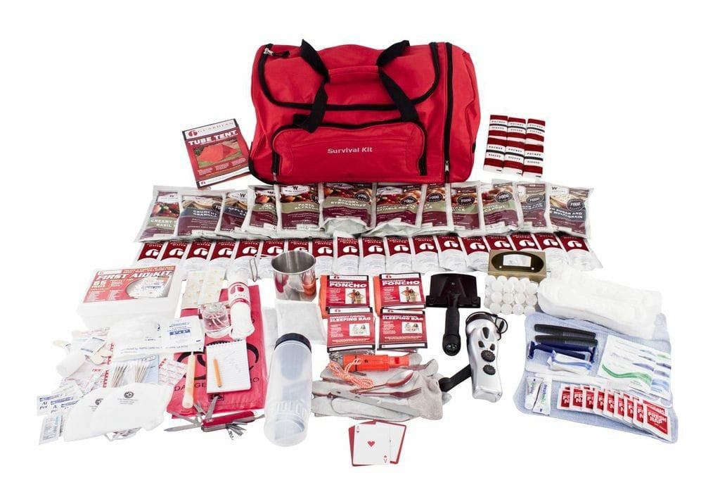 Deluxe Food Storage Survival Kit - Tornado Kit - Tornado Emergency Kit - Tornado Safety - Tornado Survival Kit - Disaster Kit - Preparing for a Tornado - Tornado Preparedness