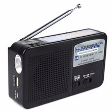 NOAA Weather Alert Poratble Radio FM/AM Solar Hand Crank Dynamo Emergency Tool DC 5V USB Radio Station With Flashlight Y4185A