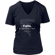 Fujita. My Least Favorite F Word. Women's V-Neck T-Shirt