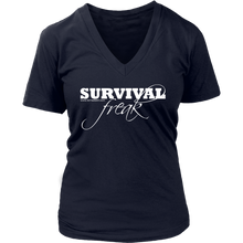 Survival Freak Women's V-Neck T-Shirt
