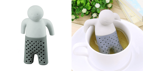 CuteCuteWorld:Mr Teapot Tea Infuser,Gray