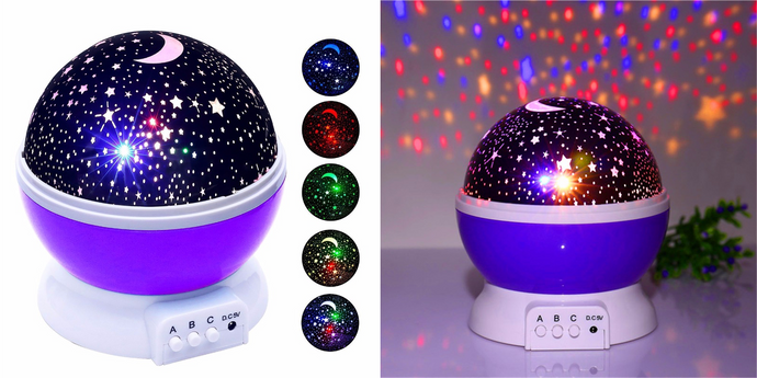 CuteCuteWorld:Star Night Light,Purple