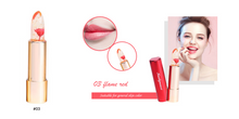 CuteCuteWorld:Lipstick Gloss Color Temperature Changes,03 Flame red