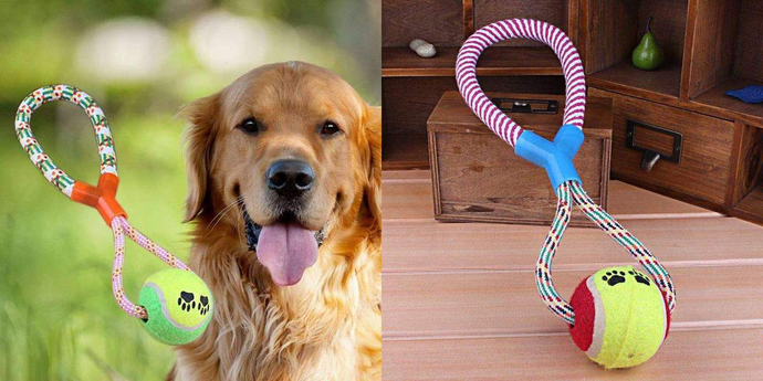 CuteCuteWorld:Chewing Indestructible Ball for Dogs