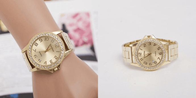 CuteCuteWorld:Luxury Watch,Gold