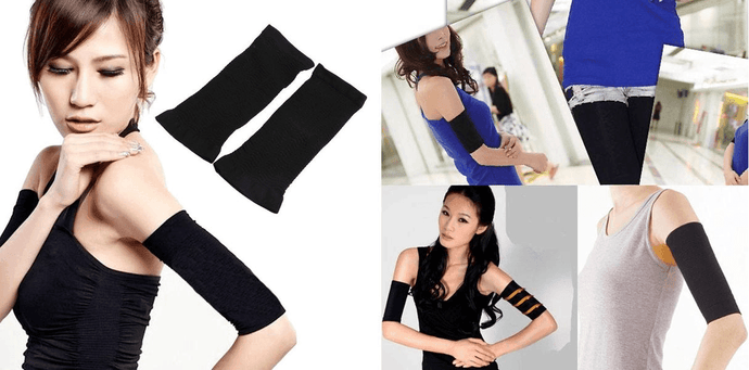 CuteCuteWorld:Incredible Arm Shaper,Black - 1 Pair