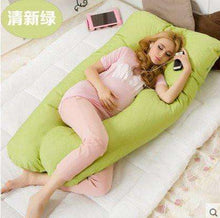 CuteCuteWorld:Maternity U-Shaped Pillow,Green