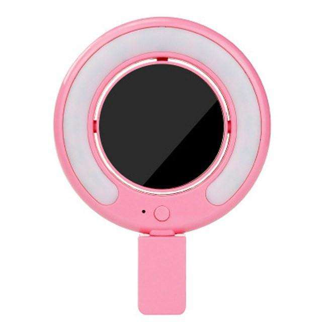 CuteCuteWorld:Selfie LED Light,Pink