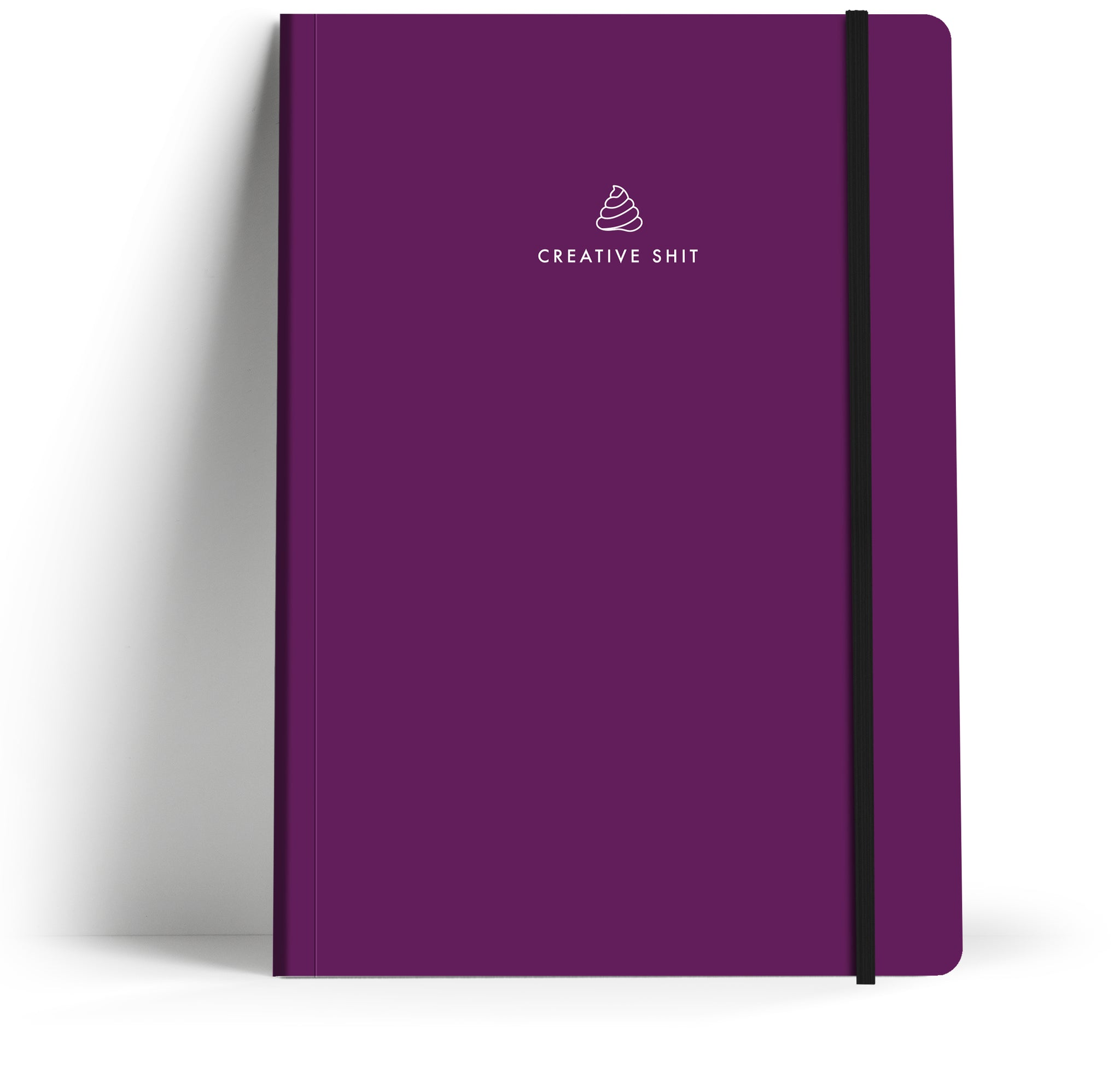 A5 Take Note book with elastic closure. Front Cover